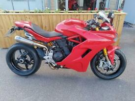 DUCATI Supersport S in red 2018 698 miles