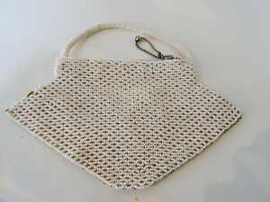 ART DECO beaded HANDBAG Czechoslovakia CHEVRON PATTERN 1920s-40s Kitchener / Waterloo Kitchener Area image 7