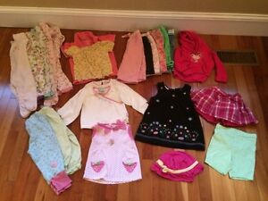 Girls clothes size 18-2t