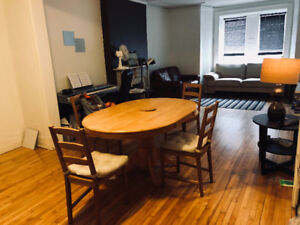 summer sublet (may 1st - aug 31) 1 bed in 2 bed apartment
