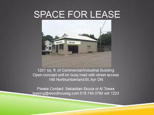 Great Opportunity, 1200 sq ft, Open plate w/streetside access
