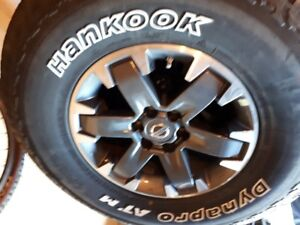 Hankook Dynapro ATM P265 75R16 1143T on Nissan Rims