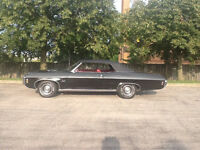 VERY NICE 69 CHEV IMPALA CONVERTIBLE FOR SALE