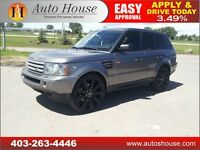2007 Range Rover Sport SUPERCHARGED NAVIGATION 90DAYS NO PAYMENT