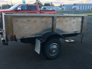 Utility trailer heavy duty 4x8
