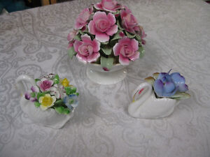 China Flowers -- FROM PAST TIMES Antiques & Coll - 1178 Albert Regina Regina Area image 1