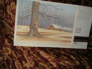 JAMES BESSEY APRIL MORNING PRINT $2