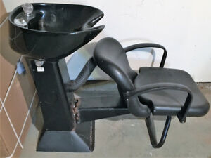 Lavabo /coiffure / hairdresser / inclinable / ajustable / chair