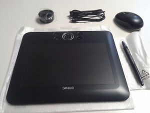 Black Wacom Bamboo FUN Tablet CTE 650K1