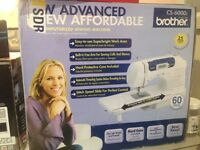 Brother CS6000i Computerized Sewing Machine with Wide Table NEW