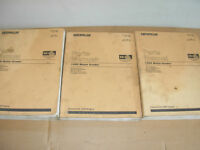 Caterpillar 140H Grader Parts Manuals , s/n's listed