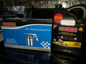 Mouse Free + air spray gun