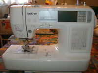 Sewing and Embroidery Machine Brother HE240 Like New