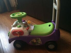 TOY STORY PUSH ALONG TOY - GOOD CONDITION