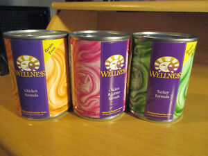 53 LARGEST CANS of WELLNESS CAT FOOD /worth over $200.00
