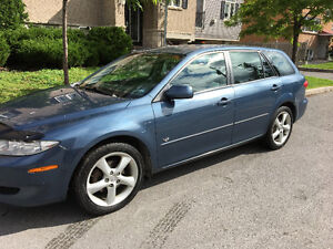2004 Mazda6 Wagon Safetied And Emission Tested 146000Kms