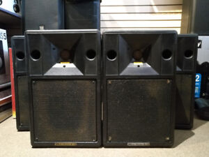 Electro Voice Stage System 200 - Crest Audio CA6