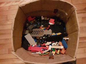 Lot de lego mélangé