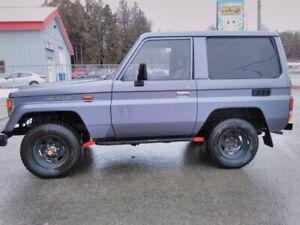 TOYOTA LAND CRUISER LJ 70 TURBO Diesel  1986