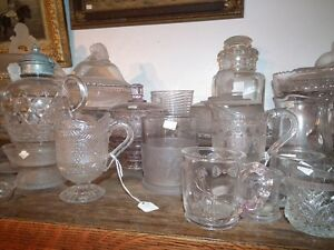 COLLECTION OF ANTIQUE EARLY CANADIAN PRESSED GLASS Sarnia Sarnia Area image 9