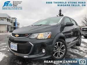 2017 Chevrolet Sonic LT  SUNROOF,REARCAM,HEATED SEATS,REMOTE STA