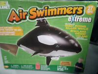 Air swimmers extreme