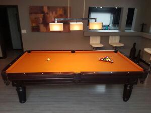 INNSBROOK POOL TABLE - NEW FELT