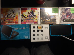 The NEW 2DS XL + 5 GAMES