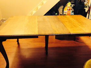 Reduced! Need the space! Antique Dining Table and Chairs Belleville Belleville Area image 2