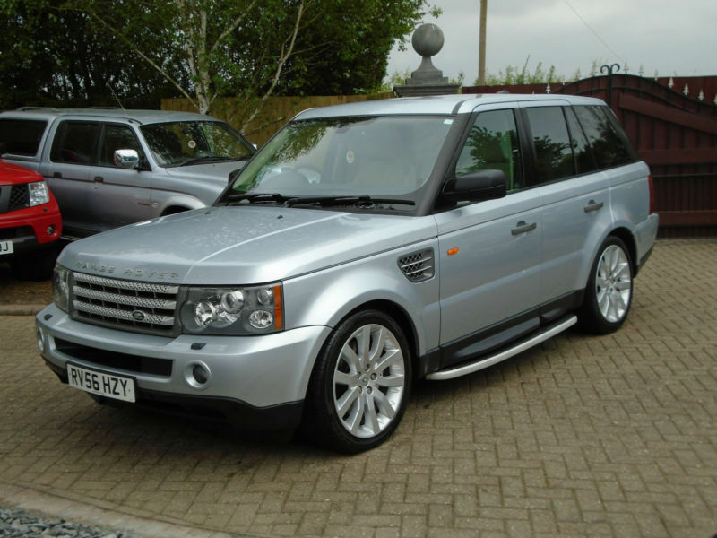 2006 56 reg land rover range rover sport 4 2 v8 auto. Black Bedroom Furniture Sets. Home Design Ideas
