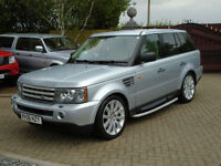 2006 56 Reg Land Rover Range Rover Sport 4.2 V8 Auto Supercharged (49000 MILES)