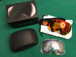 Dragon APX Advanced Projects X Ski Goggles Double lenses