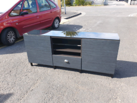 63. Grey TV unit/sideboard