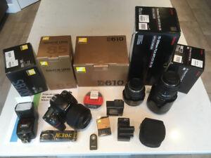 Nikon D610 + lentilleS 2.8