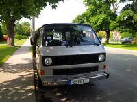 1985 vw Volkswagen Vanagon van 7 pass.