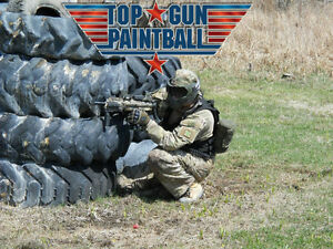 Special pour Top Gun Paintball 10 personnes