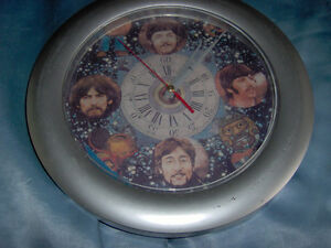 The Beatles Novelty Clock