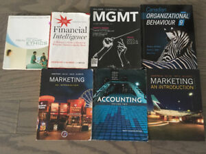 BCIT Business Textbooks For Sale!