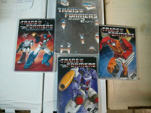 Transformers the cartoon series random DVDs $10 for the lot