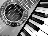 In Home Piano And Guitar Lessons