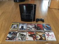 PS3 with 10 top games