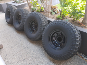 Mickey Thompson deegan 38 rims and tyres mt