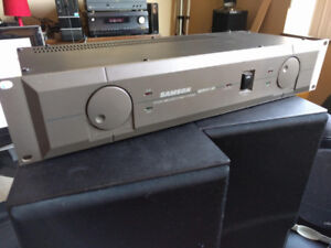 Studio amplifier SAMSON SERVO 150