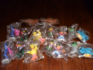 Vintage Sesame Street Figures / Cake Toppers ( All sealed!)