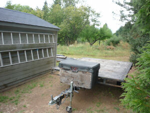 Double Quad Trailer for Sale