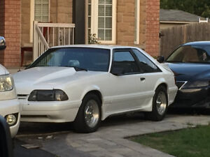 1988 Ford Mustang lx hatchback 5.0