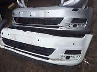 Vw golf mk7 genuine front bumper choice of colour can post rear also available