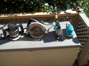 Assorted Power Tools