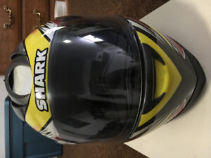 Casque SHARK RFS2 Race, full face, DOT-SNELL , moto vtt