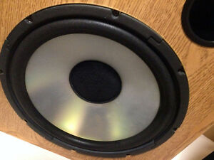 PERFECT Acoustic AUDIO  HCD12 250WATT SPEAKERS SEE VIDEO